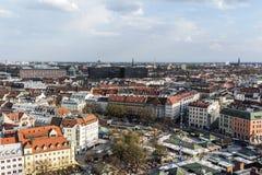Город Мюнхена Стоковые Изображения RF