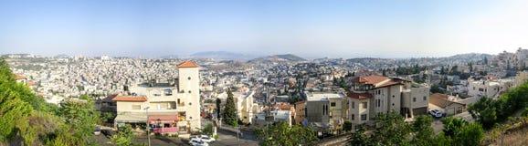 Город Назарета стоковое изображение rf