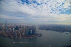 Город над взглядом Стоковые Изображения RF