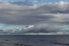Город на воде Стоковая Фотография RF