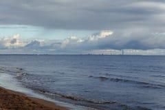 Город на воде Стоковые Фотографии RF