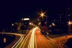 Город никогда не спит Стоковые Фото