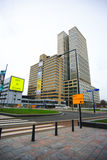 Город Нидерланды Роттердама Стоковые Изображения RF