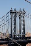 город новый williamsburg york моста Стоковые Фото