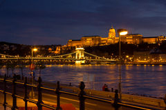 Город ночи Стоковое фото RF