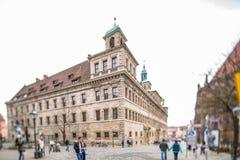 Город Нюрнберга Стоковые Изображения RF