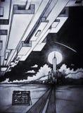 Город облака Стоковая Фотография