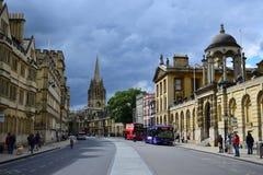 Город Оксфорда Стоковая Фотография RF