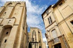 Городок Авиньона, Франция Стоковая Фотография RF