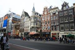 Городок Амстердама Стоковые Фотографии RF