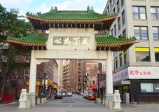Городок Бостона Китая стоковое изображение