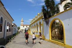 Городок Бразилии старый стоковое фото rf
