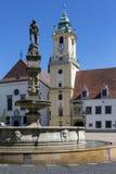 Городок Братиславы старый - Словакия Стоковое фото RF