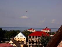 Городок взморья & x28; Чёрное море & x29; Стоковая Фотография