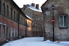Городок Вильнюса старый Стоковые Фотографии RF