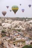 Городок воздушного шара Стоковое Фото