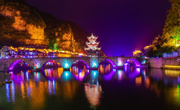 Городок воды Стоковое Изображение