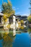 Городок воды Gubei в Пекине Стоковые Изображения RF