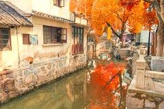 Городок воды Luzhi, Китая Стоковые Изображения