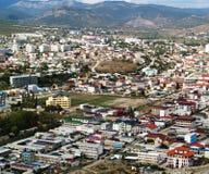 Городок в горах Стоковые Фото