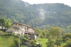 Городок в северовосточной Италии Стоковое Изображение