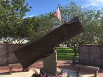 Городок Гилберта 9/11 мемориалов в Гилберте AZ Стоковые Фотографии RF