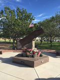 Городок Гилберта 9/11 мемориалов в Гилберте AZ Стоковое Изображение RF