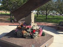 Городок Гилберта 9/11 мемориалов в Гилберте AZ Стоковые Изображения