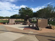 Городок Гилберта 9/11 мемориалов в Гилберте AZ Стоковое Изображение