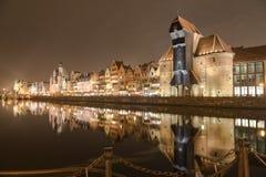 Городок Гданьска старый Стоковое Изображение RF