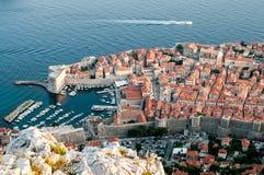 Городок Дубровника старый Стоковая Фотография