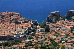 Городок Дубровник старый Стоковое фото RF