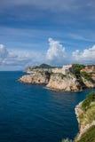 Городок Дубровник старый Стоковое Изображение