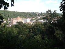 Городок леса стоковые изображения