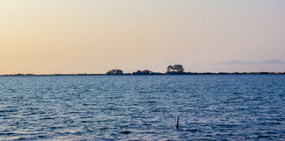 Городок лефкас, залив, лефкас, Греция стоковое фото rf
