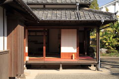 городок замка замка Kitsuki в Oita Стоковое фото RF
