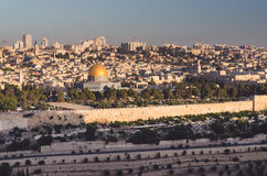 Городок Иерусалима старый Стоковое Изображение RF