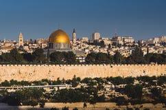 Городок Иерусалима старый Стоковое Фото