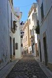 городок испанского языка sitges Стоковое Изображение RF