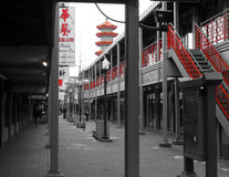 Городок Китая Стоковое Изображение