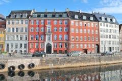 Городок Копенгагена старый Стоковые Изображения