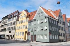 Городок Копенгагена старый Стоковая Фотография RF