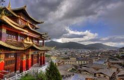 Городок Ла shangri, провинции Юньнань Стоковая Фотография RF