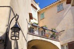 Городок Ла Turbie стоковая фотография