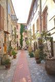 Городок Ла Turbie стоковые фотографии rf