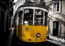 Городок Лиссабона старый Стоковая Фотография