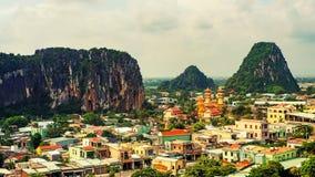 Городок мрамора Danang стоковое фото
