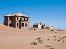 городок Намибии kolmanskop привидения Стоковые Изображения