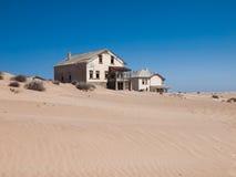 городок Намибии kolmanskop привидения Стоковая Фотография
