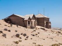 городок Намибии kolmanskop привидения Стоковое Изображение